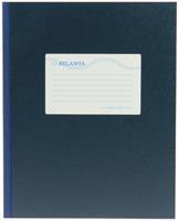 Jalema Breedkwarto  160blz gelinieerd blauw