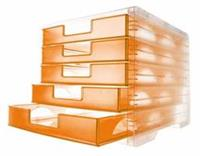 Styro ladenblok lightbox transparant mandarijn