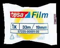 TESA Plakband  film standaard 19mmx33m