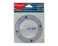 Maped Kompasroos  120mm polystyrol transparant