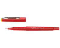 Pilot Fineliner  Razor Point SW-10 PP rood 0.4mm