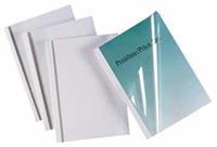 Thermische omslag  A4 1.5mm transparant/wit 100stuks