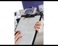 Papierklem Klembord LPC voor gebruik met smartphone