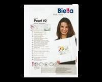 Biella Offertemap pearl 2 + insteektas 3 flappen wit