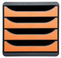 Exacompta ladenblok Big-Box Classic, muisgrijs/oranje