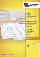 Etiket  DP010-100 105x58mm kopieren 1000Stuks