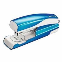 Leitz Nietmachine WOW 5502 Blauw metallic