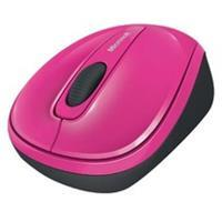 Microsoft Wireless Mobile Mouse 3500 - muis - 2.4 GHz - magenta (GMF-00277)