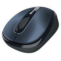Microsoft Wireless Mobile Mouse 3500 - muis - 2.4 GHz - stormgrijs (GMF-00294)