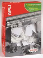 APLI Label  karton nr391 28x43Mm wit 500stuks