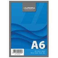 Aurora Schrijfblok A6. geruit 5 mm. 100 vel (pak 10 stuks)