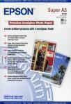 Epson Premium Semigloss Photo Paper. DIN A3+. 251g/m². 20 Blatt