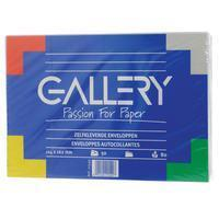 Gallery enveloppen ft 114 x 162 mm, stripsluiting, pak van 50 stuks
