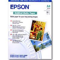 Epson Archival Matte Paper. DIN A4. 192g/m². 50 Blatt