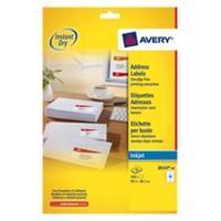 Avery Etiket  J8163-40 99.1x38.1mm wit 560stuks