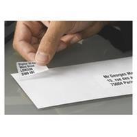 Doos 6400 adresetiketten Avery L 7652 wit 45,7 x 16,9 mm voor laserprinter