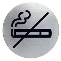 Durable Stalen pictogram Verboden te roken