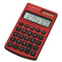 Zakrekenmachine Olympia LCD-1110 rood