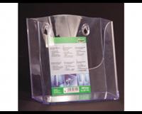 Sigel SI-LH116 Folderhouder Wandmodel A5 Transparant Acryl 1 Vak