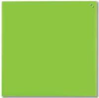 Naga magnetisch glasbord, groen, ft 100 x 100 cm