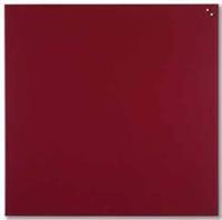 Naga Glasmagneetbord  rood