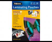 fellowes Lamineerhoes  A4 Superquick 2x80micron 100stuks