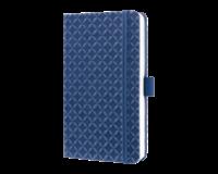 sigel SI-JN100 Notitieboek Jolie Flair A6 Hardcover Gelinieerd Indigo Blauw