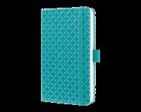 sigel SI-JN102 Notitieboek Jolie Flair A6 Hardcover Gelinieerd Aqua Groen