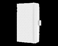 sigel SI-JN108 Notitieboek Jolie Flair A6 Hardcover Gelinieerd Sneeuwwit