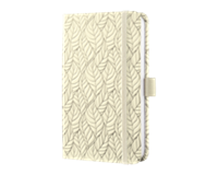 sigel SI-JN302 Notitieboek Jolie Beauty A6 Hardcover Gelinieerd Beige