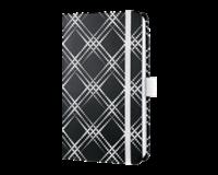 sigel notitieboek  Jolie Beauty A6 hardcover gelinieerd zwart/wit