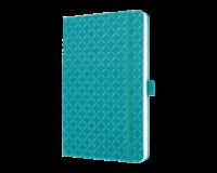 sigel SI-JN103 Notitieboek Jolie Flair A5 Hardcover Gelinieerd Aqua Groen