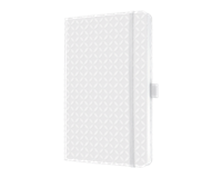 sigel SI-JN109 Notitieboek Jolie Flair A5 Hardcover Gelinieerd Sneeuwwit
