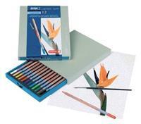 Bruynzeel Sakura Kleurpotloden Bruynzeel 8835 Design aquarel 12stuks assort