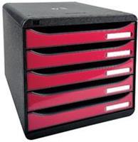 Exacompta ladenblok Iderama Big Box+ zwart/framboos