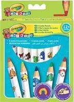 Mini Kids 8 Dikke kleurpotloden