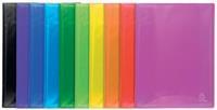 Exacompta Iderama showalbum, uit PP, met 30 tassen, geassorteerde kleuren