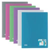 Elba showalbum Hawaï, voor ft A4, 40 tassen, uit PP, geassorteerde kleuren