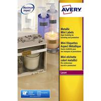 Avery Etiket  L7680-25 38.1x21.2mm goud 1625stuks