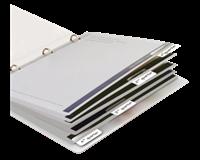 3L Indextabs  10513 12x40mm zelfklevend wit