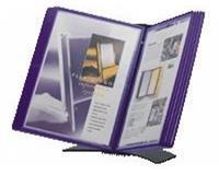 Jalema Bureaustandaard Flex-O-Frame met 10-tassen zwart