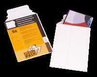 Cleverpack Envelop  A4 238x312mm karton wit 5stuks