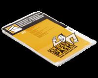Cleverpack Envelop  akte B4 245x350mm zelfkl. transp. 50stuks