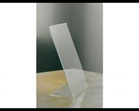 Opus2 Kaarthouder  L-standaard A6 staand acryl