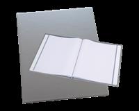 Rillstab Showmap  A4 Trendline 10-tassen zilver