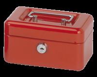 Geldkist Maul 152x125x81mm rood