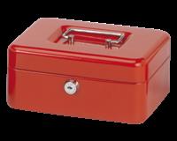 Geldkist Maul 200x170x90mm rood