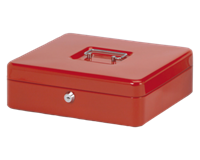 Geldkist Maul 300x245x90mm rood