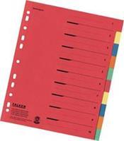 Register Falken 80086390 DIN A4 Gekleurd 10 vel 5-kleurig 10 onderdelen