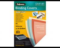 Fellowes Voorblad  A4 PVC 150micron 100stuks